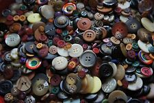 5,000 Buttons Mixed Colors Sewing Scrapbooking Mixed Huge Bulk Lot Whsl