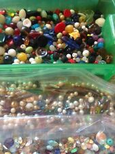 Job Lot Huge Bead and Jewelry Making Supply Lot Gemstone Glass Findings More!