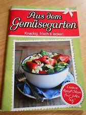 Kochbuch - aus dem Gemüsegarten - Gemüse - kochen - Rezepte - NEU