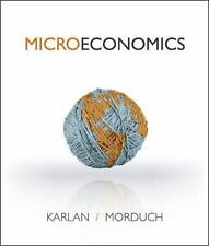 NEW! Microeconomics by Dean Karlan and Jonathan Morduch (2013, Paperback)