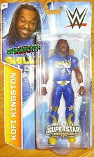 KOFI KINGSTON WWE SUPERSTAR ENTRANCES TSHIRT FIGURE WALMART EXCLUSIVE NEW DAY