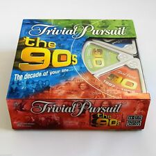 TRIVIAL PURSUIT THE 90s EDITION BOARD GAME - THE DECADE OF YOUR LIFE- VGC