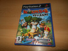 PS2 Worms 4 Mayhem, UK Pal, Brand New  Sony Factory Sealed