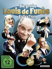 16 DVDs * DIE GROSSE LOUIS DE FUNÈS COLLECTION # NEU OVP /