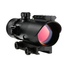 Sports Hunting 1x30 RD Red Dot Sight Rifle Scope with Bubble Level for 20mm Rail