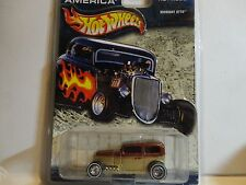 Hot Wheels Cruisin America Gold Midnight Otto w/Real Riders