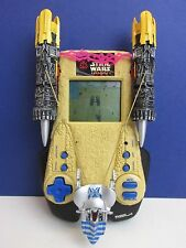 vintage STAR WARS podrace challenge LCD ELECTRONIC GAME HANDHELD EP1 tiger 1999