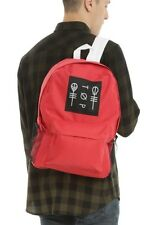 Twenty One Pilots 21 Red Blurryface Album Band Logo School Backpack Book Bag NWT
