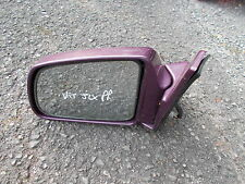 SUZUKI VITARA JLX MODELS 1988-1998 PASSENGER SIDE MAUVE AND ELECTRIC DOOR MIRROR