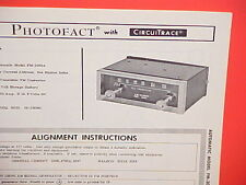 1964 1965 AUTOMATIC AUTO CAR FM CONVERTER RADIO SERVICE MANUAL MODEL FM-3083A