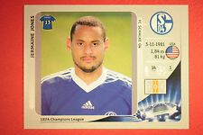 PANINI CHAMPIONS LEAGUE 2012/13 N. 110 JONES SCHALKE 04 BLACK MINT!