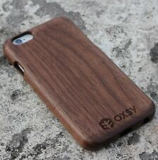 OXSY Walnut Solid Real Wood Case Cover - Apple iPhone 6 / 6S