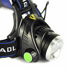 3000LM CREE XML T6 LED Headlamp 18650 Head Torch Lamp Light 3 Mode Head Switch