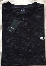 Mens Hugo Boss  T-Shirt Black Short Sleeve Size-Small RRP £48