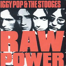 Iggy Pop & the Stooges Raw Power CD