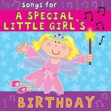 Songs for a Special Little Girl's Birthday  New Sealed FREE 1ST CLASS POST box2
