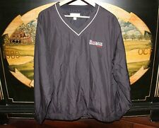Mens Large Black WeatherTec Golf V Neck WindShirt Cutter & Buck BUCKEYE SHELBY