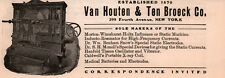 1905 AD VAN HOUTEN TEN BROECK CO STATIC MACHINE XRAY MEDICAL QUACK