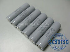 6 Genuine LG LGABB41865 18650 2600mAh 3.7v Flat Top Li-Ion Battery