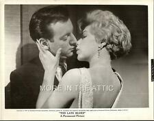 LUCKY BOBBY DARIN WITH SEXY STELLA STEVENS TOO LATE BLUES ORIG FILM STILL