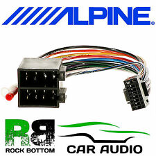 Alpine CDE-133BT Car Radio Stereo Replacement Wiring Harness Loom ISO Lead