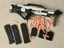 Custom Nerf N-Strike Stampede ECS Mass Effect N7