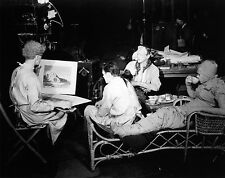 RARE STILL THE BRIDE OF FRANKENSTEIN CAST OFF CAMERA