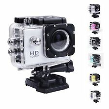 Hi-Q 12MP 1080P Bike Helmet Sport DV Action Waterproof Car Camera DVR Cam S