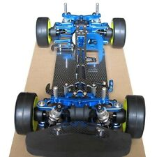 Alloy & Carbon TAMIYA TT01 TT01E Shaft Drive 1/10 4WD Touring Car Frame Kit