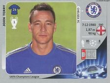 N°302 JOHN TERRY # ENGLAND CHELSEA.FC CHAMPIONS LEAGUE 2013 STICKER PANINI