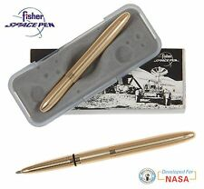 Fisher Space Pen #400G / Lacquered Brass Classic Gold Bullet Pen
