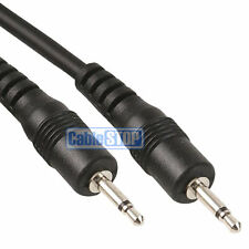 3m MONO 2.5mm Mini Jack to Jack Male Plug Audio Headphone Cable Lead 3 METRES