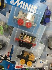 Thomas Minis *NEW *Space Gordon* Construction Toby *2017 3 Pack !