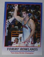 Tommy Rowlands 2008 ProImage Heroes of Wrestling Card Ohio State University USA
