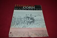 Hesston Corn Harvester For Combines Dealer's Brochure DCPA2