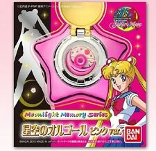 BANDAI Sailor Moon Star Locket Music Box Pink ver. Moonlight Memory series NEW