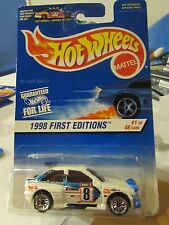 Hot Wheels Ford Escort Rally 1998 First Editions White