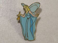 DISNEY PINOCCHIO BLUE FAIRY ENAMEL TRADING LAPEL HAT PIN 2000