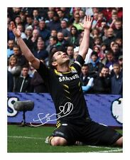 FRANK LAMPARD - CHELSEA SIGNED AUTOGRAPHED A4 PP PHOTO POSTER