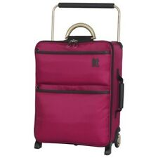 IT Luggage World's Lightest Light Suitcase Cerise Pink Small (Cabin 55cm) 1.6kg