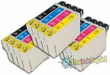 12 T0711-4/T0715 non-oem Cheetah Ink Cartridges fit Epson Stylus SX600FW SX610FW