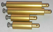 gold vintage alloy POLE for tamiya Clodbuster and Super Clodbuster