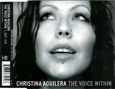 CHRISTINA AGUILERA - The voice within 1TR PROMO CDM 2003 VOCAL / POP - EU PRINT