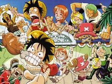 POSTER ONE PIECE MONKEY D LUFFY RUFY PORTGAS D. ACE RUBBER ANIME MANGA NAMI #65
