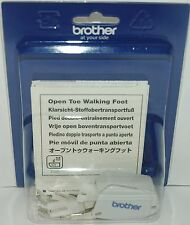 Brother Genuine Open Toe Walking Foot for Sewing Machine - F062N  XF1434001