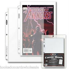 1 Pack of 20 BCW Comic Book Pages Sheets Holders