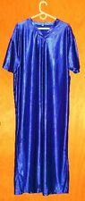 Unisex NIGHTGOWN FOR MEN, WOMEN, Heavy POLYESTER SATIN, FULL LENGTH