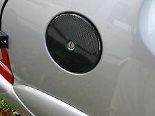 PEUGEOT 106 CITROEN SAXO VTR VTS CARBON FIBER EFFECT ABS PETROL FUEL CAP COVER