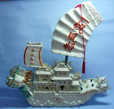 CHINA  DRACHEN  ALTE  DRACHEN SCHIFF   CHINA  DRAGON BOAT