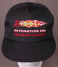 2 BROTHERS Automotive Inc Hat-Black-Snapback-Embroidered-Flame-Englewood CO
